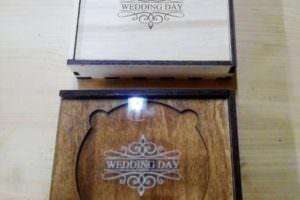Коробка под диск и фото