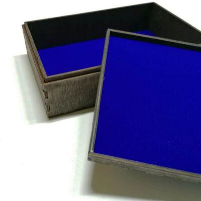 коробка с флокированием