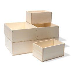 Коробки из дерева